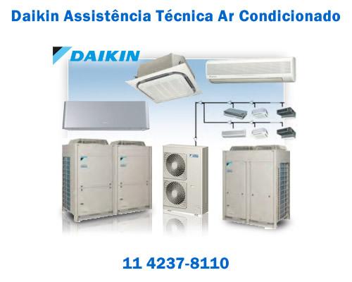 Daikin assistência técnica ar condicionado sp