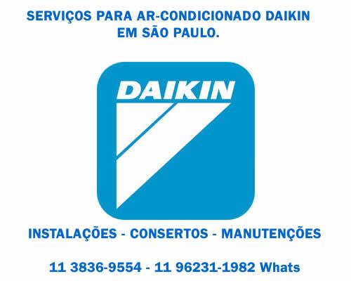 serviços Daikin ar-condicionado em São Paulo