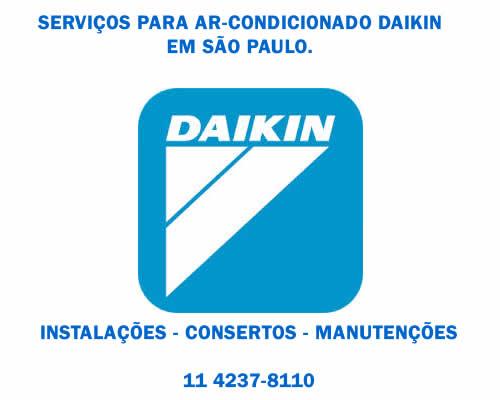 Serviços Daikin ar condicionado em Sao Paulo