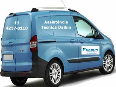 Unidade móvel para manutenção preventiva ar-condicionado Daikin