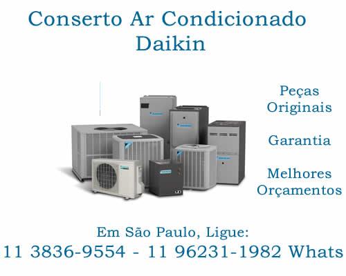 conserto ar-condicionado Daikin