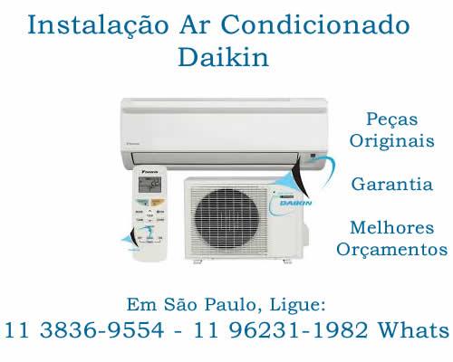 instalação ar-condicionado Daikin