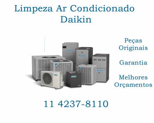 Limpeza ar-condicionado Daikin