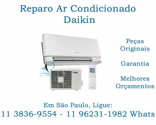 reparo ar-condicionado Daikin