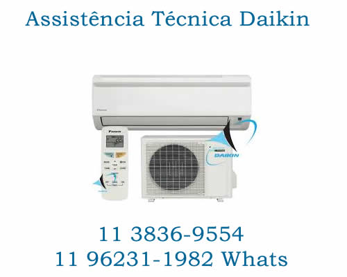 Assistência ar-condicionado Daikin