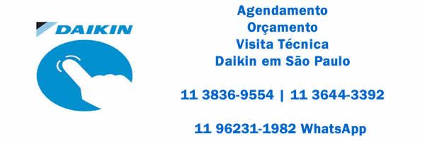 Agendamento ar-condicionado Daikin